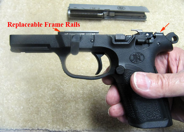 FNP-9 Replaceable Frame rails
