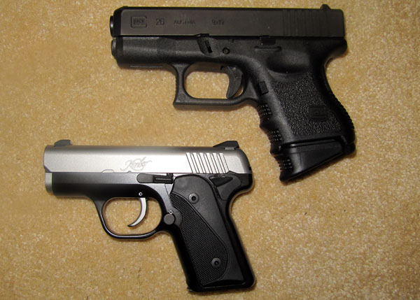 Kimber Solo Compared to Glock 26