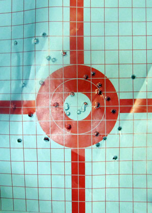 Kimber Solo Target  Nice Group 15 Yards