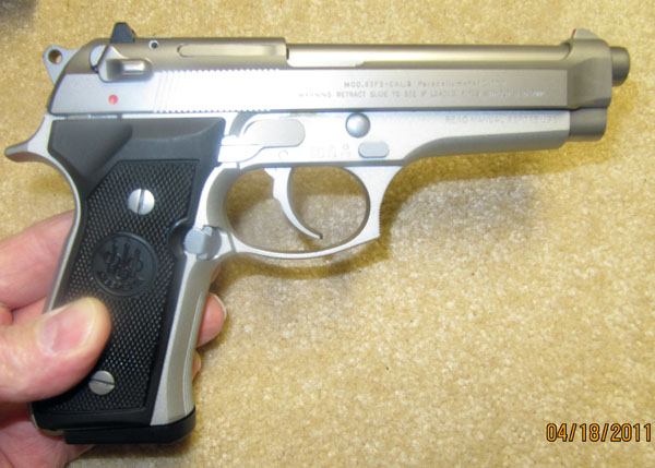 Beretta 92FS Right Side View