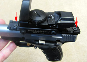 Buckmark Plus with Picatinny Rail