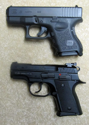 Compare CZ 2075 Rami 9mm to Glock 26