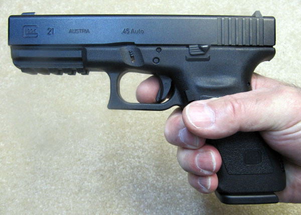 Glock 21 Review - Glock 21SF Review