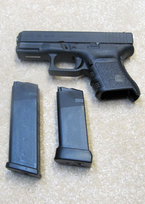 Glock 30 with 10 Rd and 13 Rd Magazines