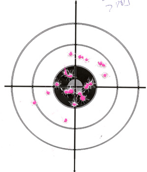 Ruger LC9 after trigger mod 20rds at 7yds